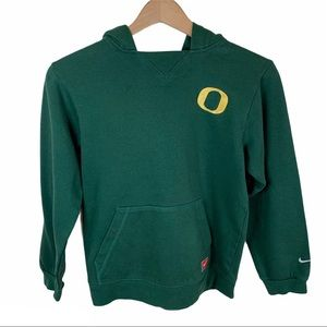Nike Oregon Ducks Green Sweatshirt Kids Medium